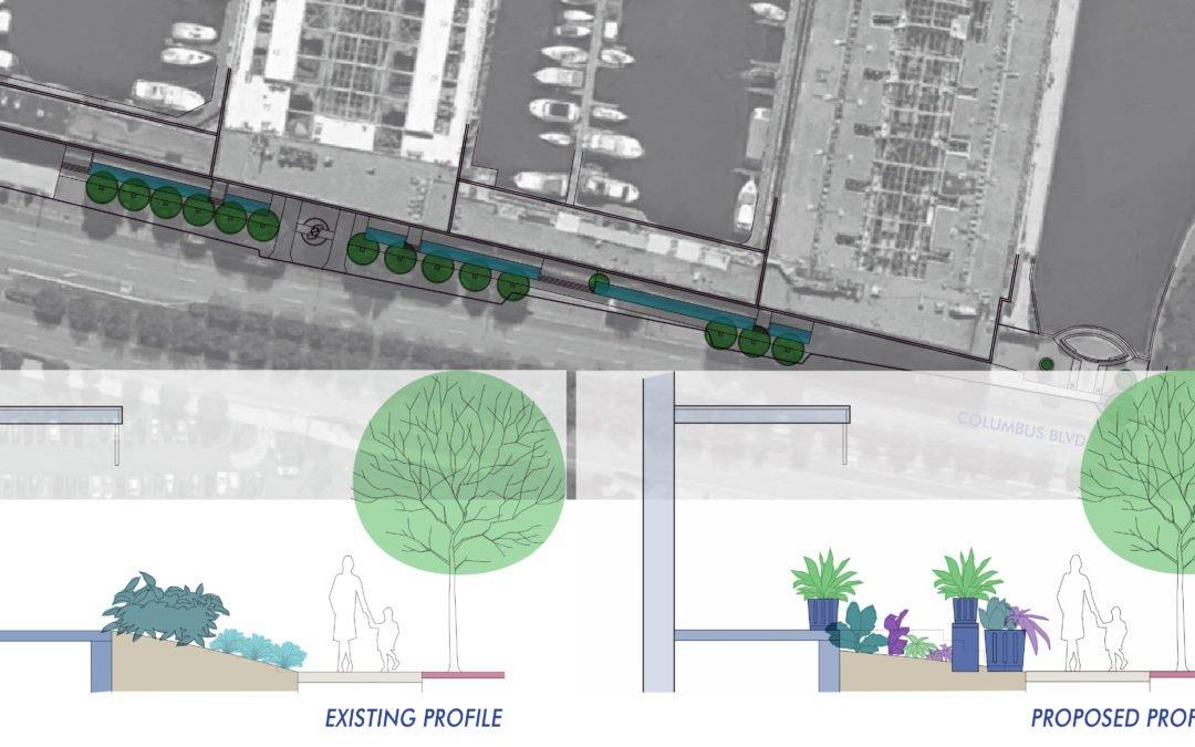 Piers 3 + 5, Headhouse Landscape Renewal
