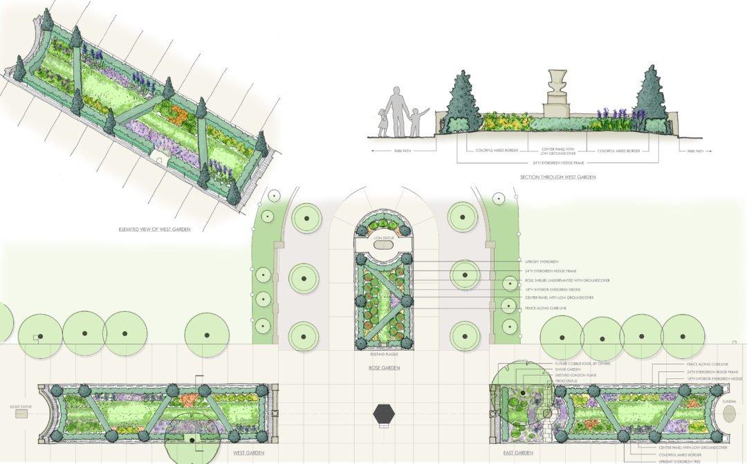 Rittenhouse Square Formal Garden Redux
